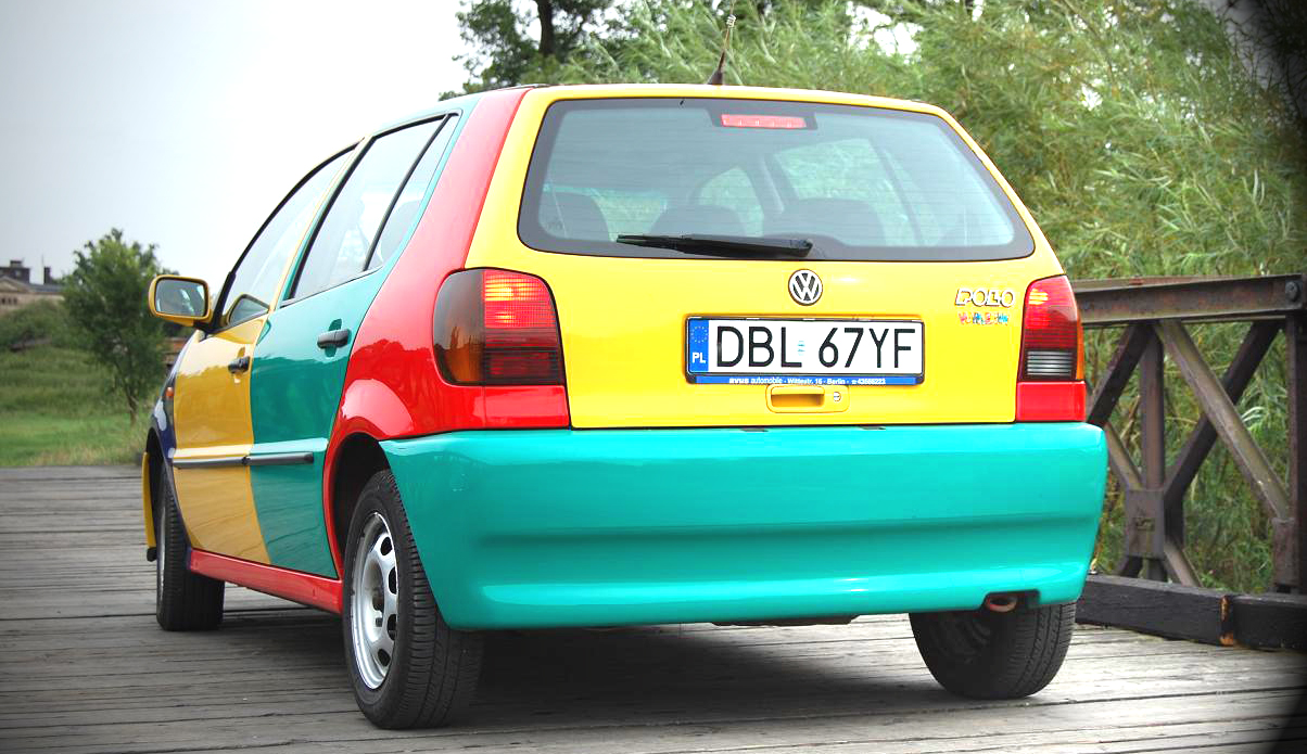 VW Polo Arlequín