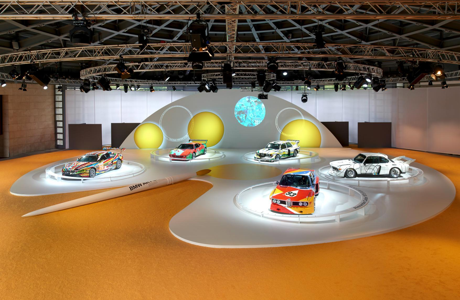 Los Art Cars de BMW ya son cuarentones