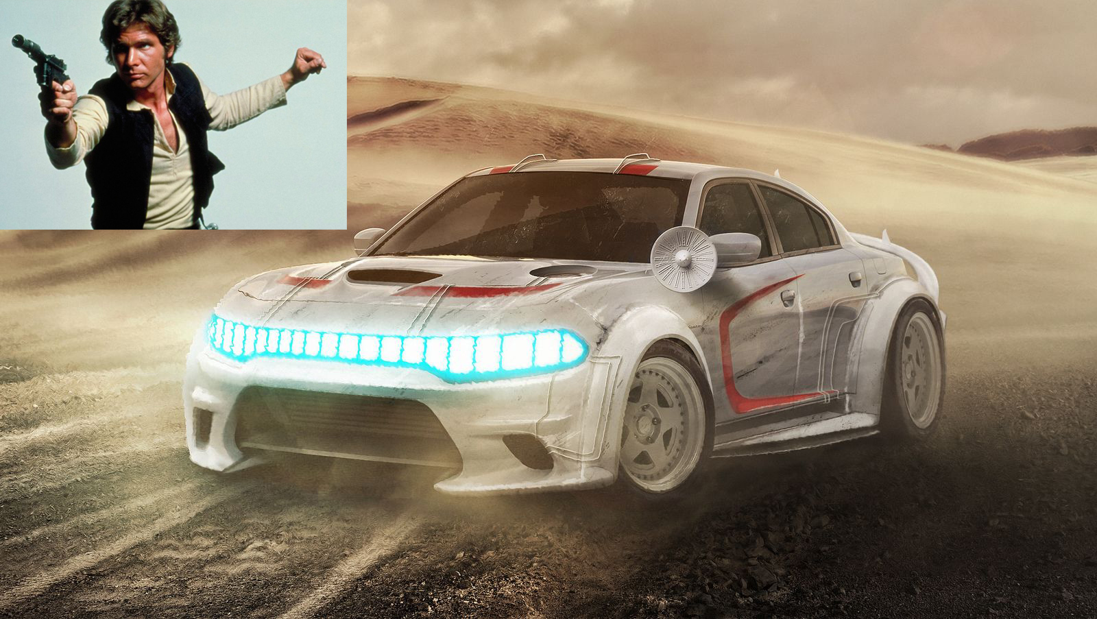 Han Solo: Dodge Charger Hellcat