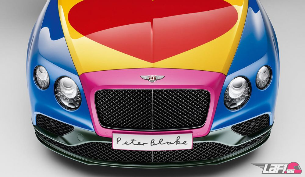 Un Bentley puro corazón, puro pop art
