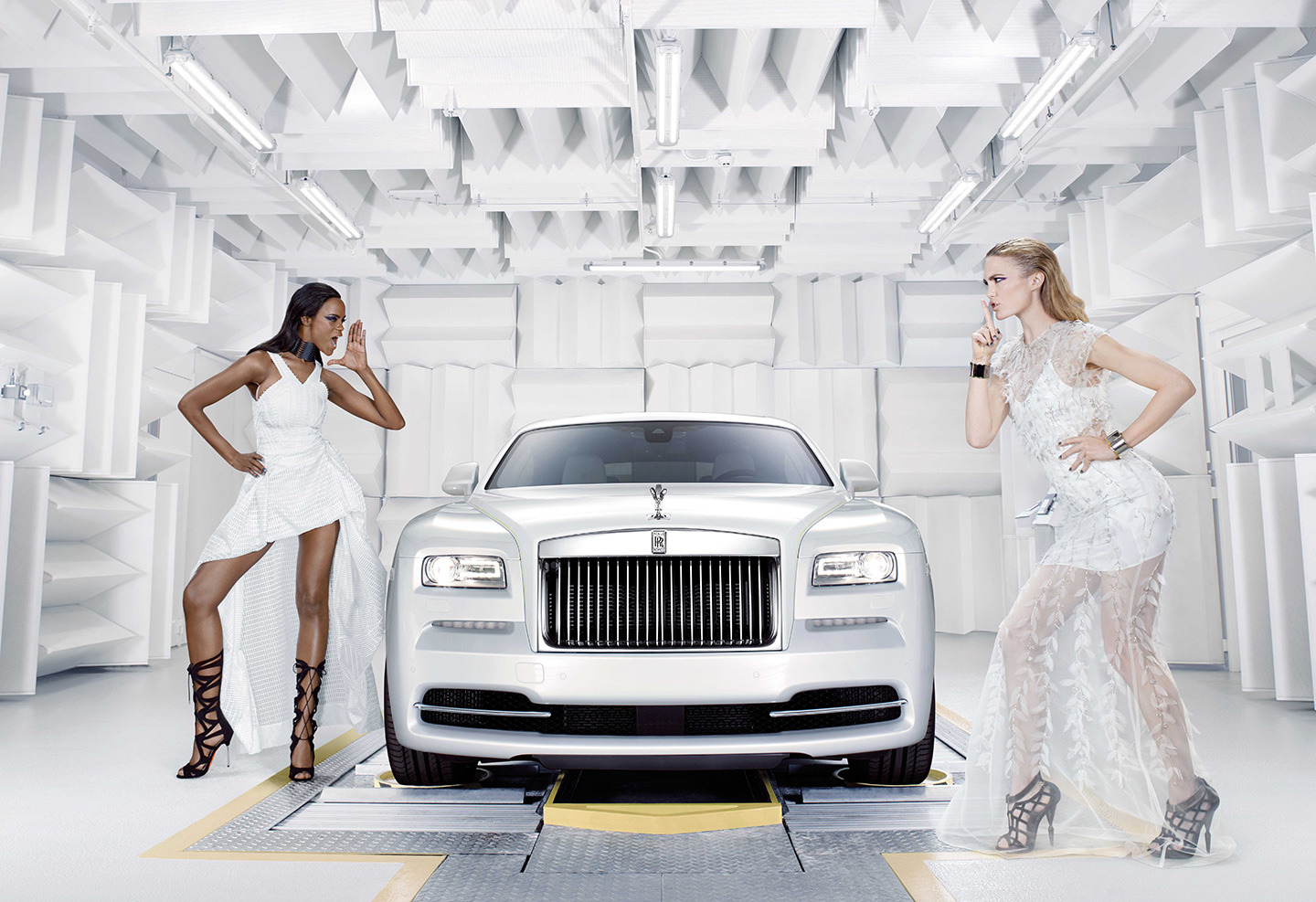 Rolls Royce Dawn Inspired by fashion: lujo inspirado en el lujo de la alta costura