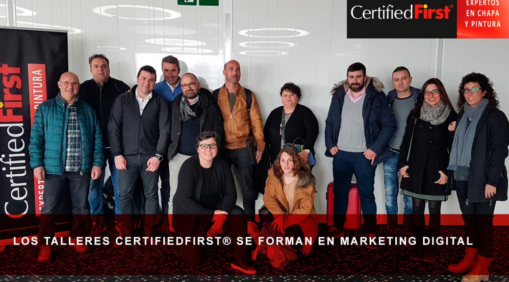 Los talleres CertifiedFirst® se forman en marketing digital