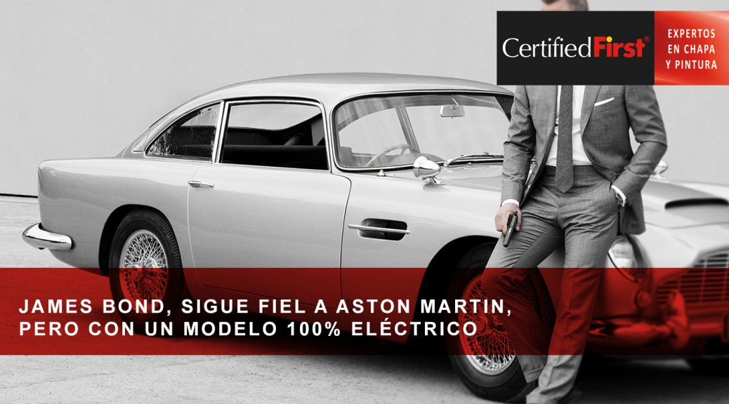 James Bond, sigue fiel a Aston Martin, pero con un modelo 100% eléctrico