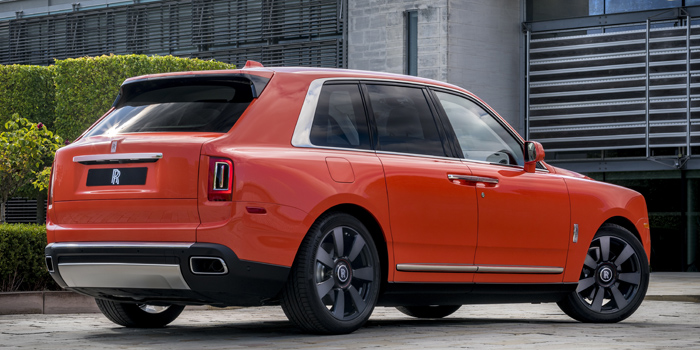Rolls-Royce Cullinan Fux Orange