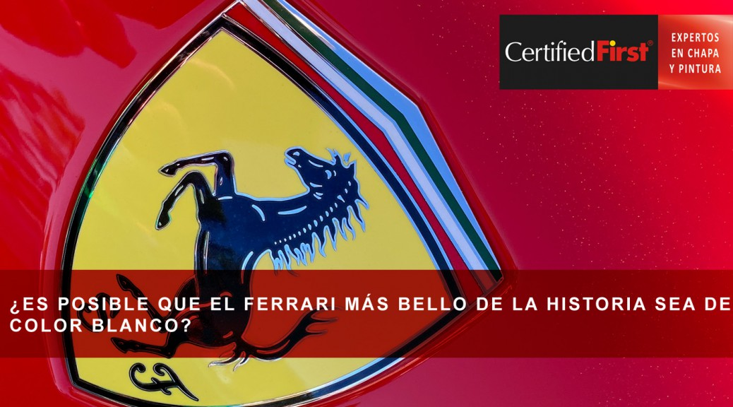 ¿Es posible que el Ferrari más bello de la historia sea de color blanco?