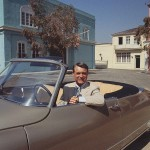Citroen DS y Cary Grant