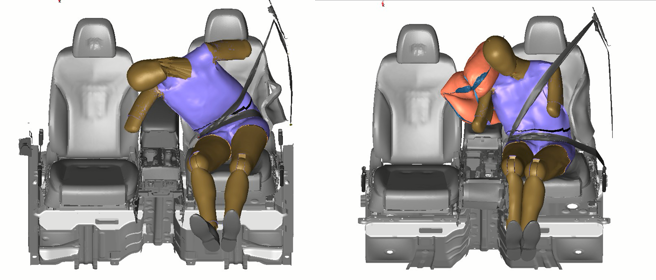 Airbag lateral