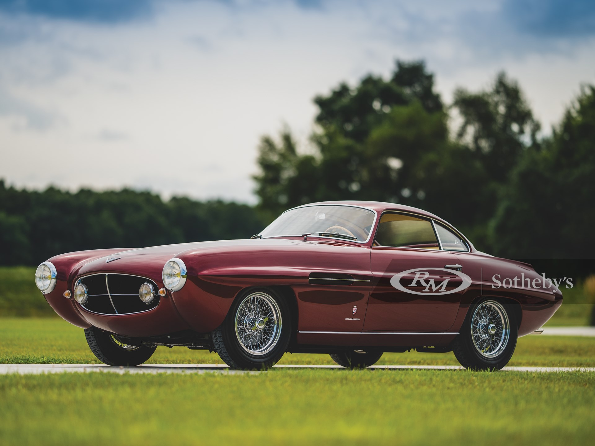 1953 Fiat 8V Supersonic by Ghia - Darin Schnabel Cortesia de RM Sotheby's